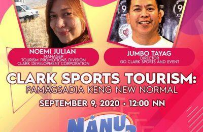 NanuPaTa   Clark Sports Tourism: Pamagsadia Keng New Normal