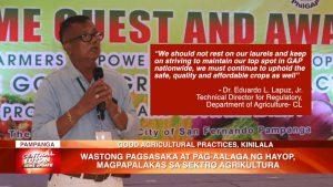 Wastong pagsasaka at pag-aalaga ng hayop, magpapalakas sa sektor agrikultura | CLTV36 News