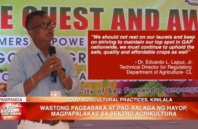 Wastong pagsasaka at pag-aalaga ng hayop, magpapalakas sa sektor agrikultura | News