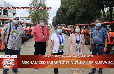 Mechanized farming, isinusulong sa Nueva Ecija