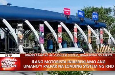 Unang araw ng all-cashless transaction sa NLEX sinalubong ng aberya