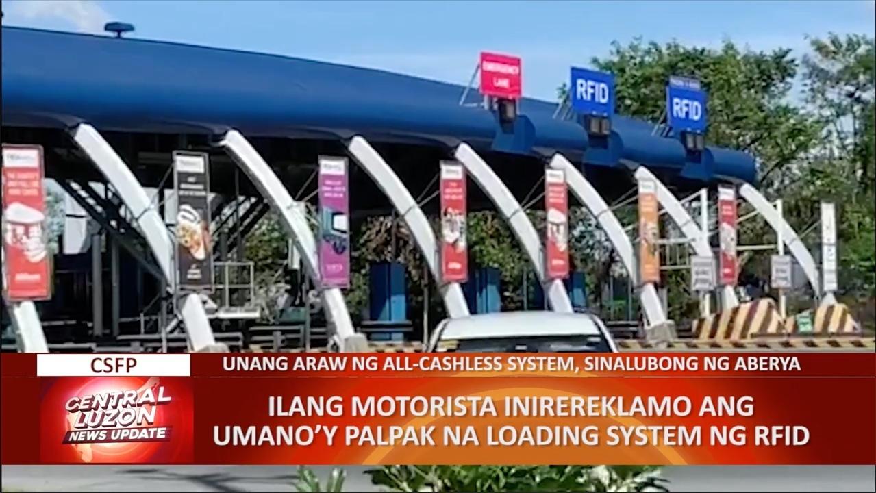 Ilang motorista inirereklamo ang umano'y palpak na loading system ng RFID   CLTV36 News