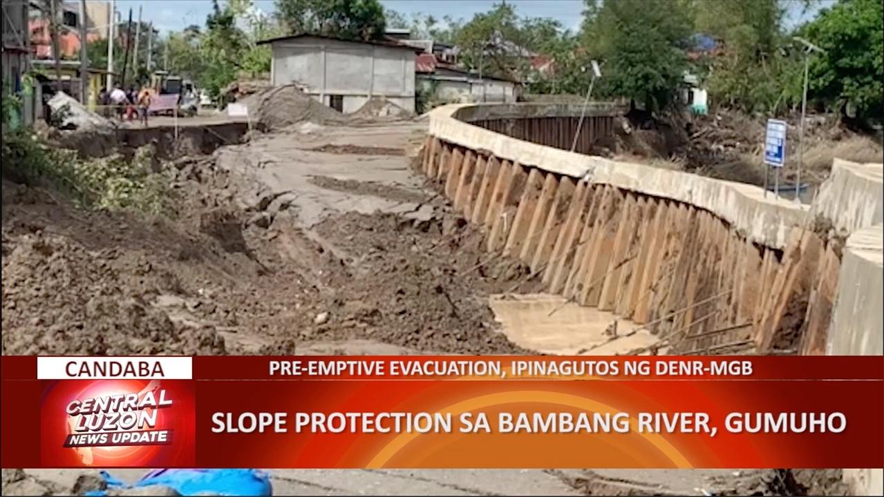 Mga residente sa gilid ng Bambang River, pansamantalang lumikas | CLTV36 News