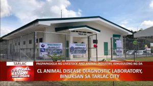 Laboratoryo na magsusuri sa mga maysakit na hayop, binuksan sa Tarlac | CLTV36 News