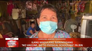 Ilang magulang nanindigang 'No Vaccine, No to Physical Schooling' pa rin | CLTV36 News