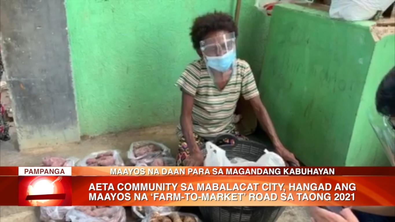 Aeta Community sa Mabalacat City, hangad ang maayos na 'Farm to Market' Road sa taong 2021 | CLTV36