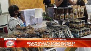 Holiday sales ng Kadiwa Market sa Central Luzon, umabot ng ₱500K | CLTV36 News