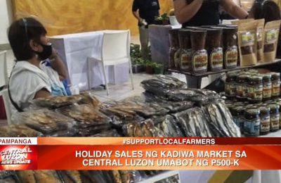 Holiday sales ng Kadiwa Market sa Central Luzon, umabot ng ₱500K   News