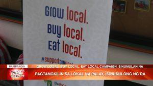 Pagtangkilik sa lokal na palay, isinusulong ng Department of Agriculture | CLTV36 News