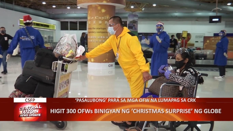 Higit 300 OFWs binigyan ng Christmas surprise ng Globe | CLTV36 News