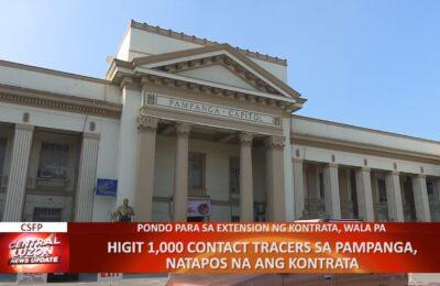 Higit 1,000 contact tracers sa Pampanga, natapos na ang kontrata