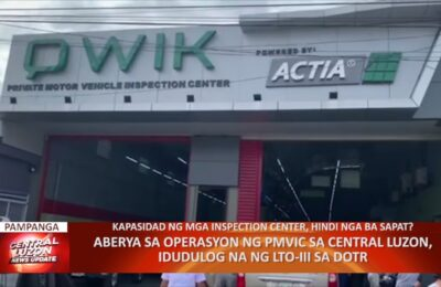 Aberya sa operasyon ng PMVIC sa Central Luzon, idudulog na ng LTO-III sa DOTR