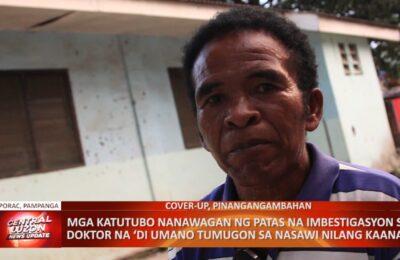 Mga katutubo nanawagan ng patas na imbestigasyon sa doktor na 'di umano tumugon sa nasawi nilang kaanak