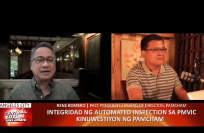 Integridad ng automated inspection sa PMVIC kinuwestiyon ng PAMCHAM