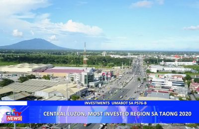 Central Luzon, Most Invested Region sa Taong 2020