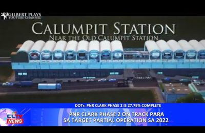 PNR Clark Phase 2 on track para sa target partial operation sa 2022