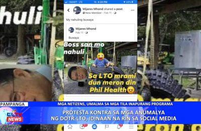 Protesta kontra sa mga anumalya ng DOTR-LTO, idinaan na rin sa social media