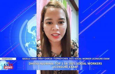 DHVSU Alumna, Top 1 sa 2021 Social Workers Licensure Exam