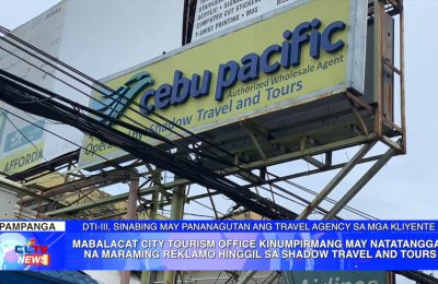 Shadow Travel and Tours, may pananagutan ang travel agency sa mga kliyente ayon sa DTI | PAMPANGA News