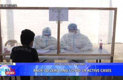 Back-To-Zero ang COVID-19 active cases