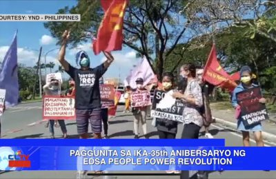 Paggunita sa ika-35th anibersaryo ng EDSA People Power Revolution | CLTV36 News