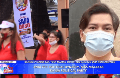 Analyst: Political Dynasty, mas malakas kaysa Political Party | Central Luzon News – Pampanga