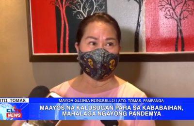 Maayos na kalusugan para sa kababaihan, mahalaga ngayong pademya | Pampanga News