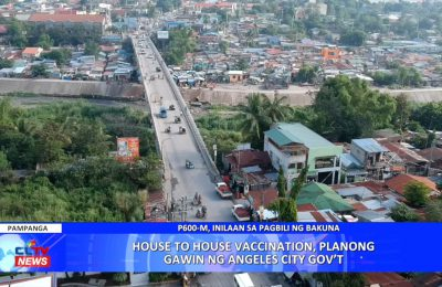 House-to-house vaccination, planong gawin ng Angeles City Government | Pampanga News