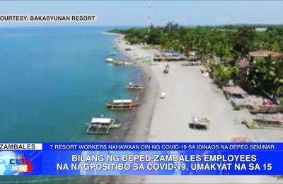 Bilang ng DepEd-Zambales employees na nagpositibo sa COVID-19, umakyat na sa 15 | Zambales News