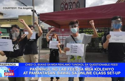 Paniningil ng lab fees sa mga kolehiyo at pamantasan, bawal sa online class set-up | Central Luzon News