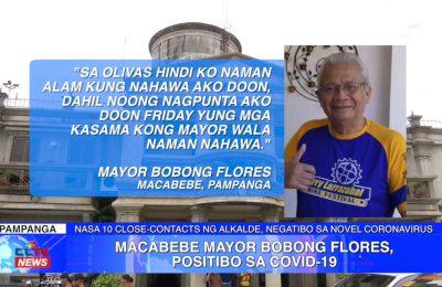 Macabebe Mayor Bobong Flores, positibo sa COVID-19 | Pampanga News