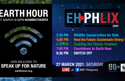WWF-Philippines Invites Filipinos to Take Climate Action, Speak Up for Nature this Earth Hour 2021