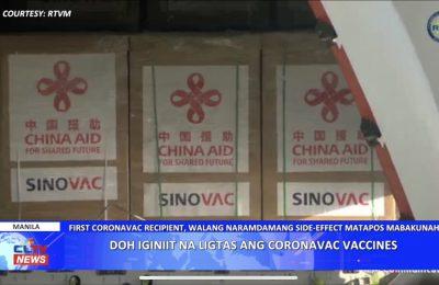 DOH iginiit na ligtas ang coronavac vaccines   Central Luzon News