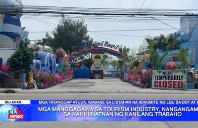 Mga manggagawa sa tourism industry, nangangamba sa kahihinatnan ng kanilang trabaho | Central Luzon News