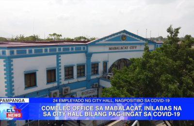 COMELEC Office sa Mabalacat, inilabas na sa City Hall bilang pag-iingat sa COVID-19 | Pampanga News