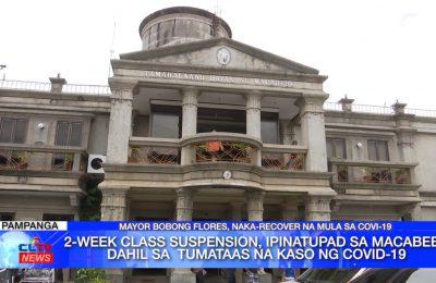 2-week class suspension, ipinatupad sa Macabebe dahil sa tumataas na kaso ng COVID-19 | Pampanga News