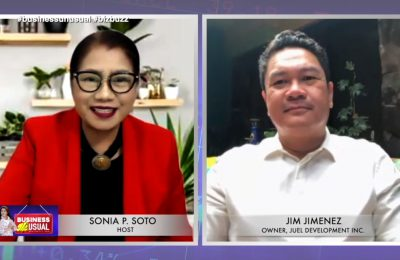Mr. Jim Jimenez recounts business challenges from Pinatubo eruption to COVID-19 pandemic | Business Unusual with Sonia P. Soto