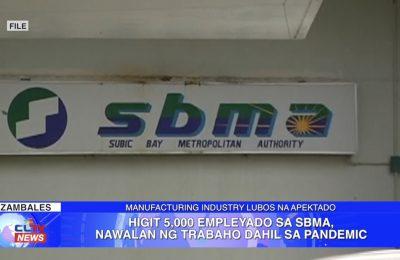 Higit 5,000 empleyado sa SBMA, nawalan ng trabaho dahil sa pandemic | Zambales News