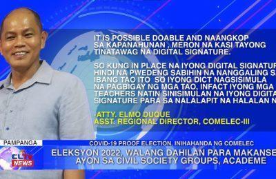 Eleksyon 2022, walang dahilan para makansela ayon sa civil society groups, academe | Central Luzon News