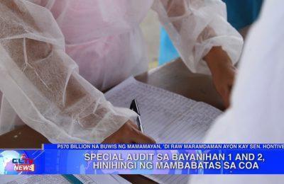 Special audit sa Bayanihan 1 and 2, hinihingi ng mambabatas sa COA | Central Luzon News