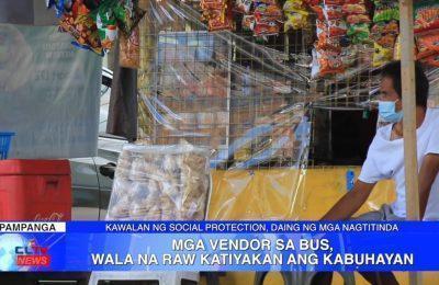 Mga vendor sa bus, wala na raw katiyakan ang kabuhayan | Pampanga News