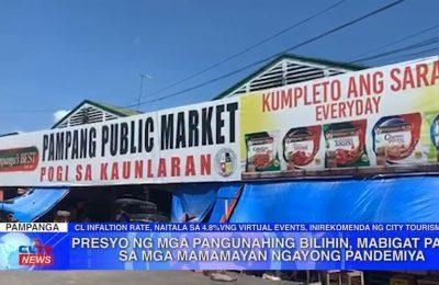 Presyo ng mga pangunahing bilihin, mabigat pa rin sa mga mamamayan ngayong pandemiya | Pampanga News