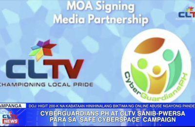 CyberGuardiansPH at CLTV sanib-pwersa para sa 'Safe Cyberspace' campaign | Central Luzon News