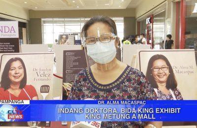 Indang Doktora, bida king exhibit king metung a mall   Pampanga News