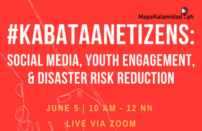 MapaKalamidad.ph to hold virtual workshop on social media, youth engagement, and disaster risk reduction