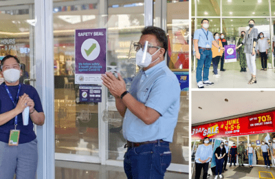 3 SM malls in the City receive Safety Seal