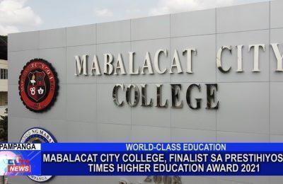 Mabalacat City College, finalist sa prestihiyosong Times Higher Education Award 2021 | Pampanga News