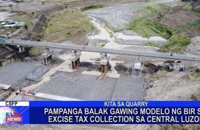 Pampanga balak gawing modelo ng BIR sa Excise Tax Collection sa Central Luzon | Pampanga