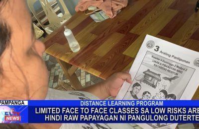 Limited face-to-face classes sa low risks area, hindi raw papayagan ni Pangulong Duterte | Central Luzon News