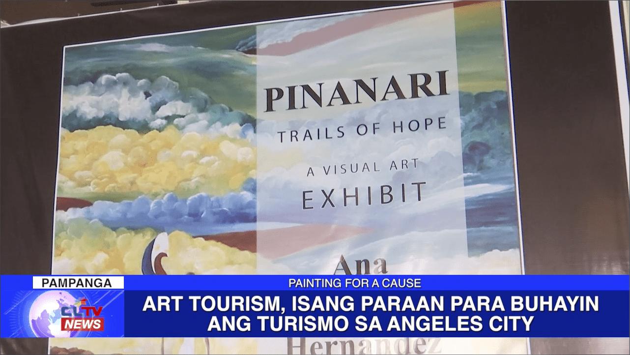 Art Tourism, isang paraan para buhayin ang turismo sa Angeles City